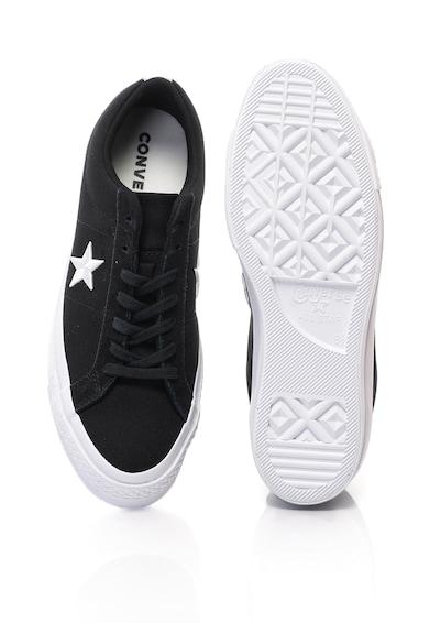 Converse One Star OX tornacipő hímzett csillaggal férfi