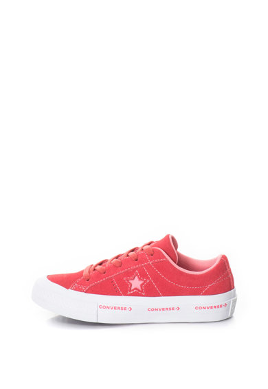 Converse One Star Ox nyersbőr logós cipő Lány