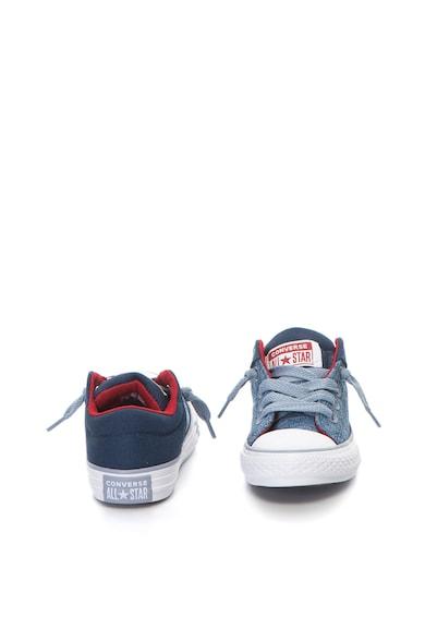 Converse Chuck Taylor All Star High Street plimsolls cipő kontrasztos részletekkel Lány