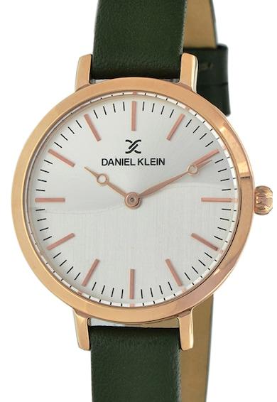 DANIEL KLEIN Ceas quartz cu o curea de piele Femei