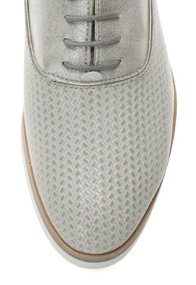 Geox Pantofi Oxford cu aspect texturat si garnitura de piele Femei