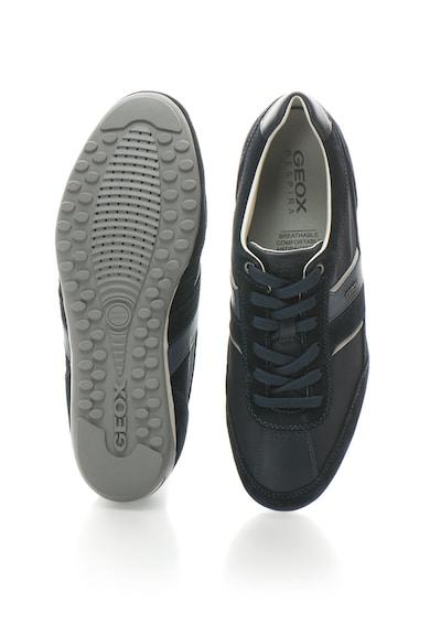 Geox Спортни обувки Wells от дишаща материя с велур Мъже