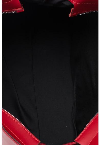 Zee Lane Geanta de piele structurata cu bareta detasabila Femei