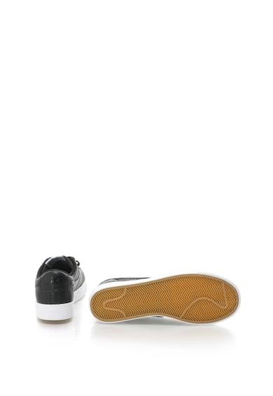 Nike Pantofi sport de piele cu talpa joasa Blazer Femei