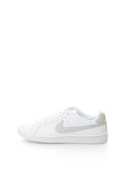 Nike Pantofi sport cu garnituri de piele si logo Court Royale Femei