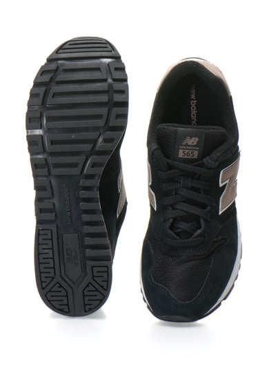 New Balance Велурени спортни обувки 565 с мрежести детайли Мъже