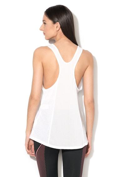 Nike Спортен топ за фитнес с изрязан гръб Жени