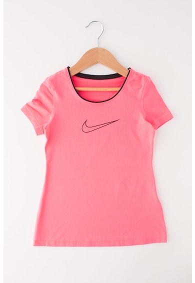 Nike Tricou cu aspect perforat, pentru fitness Fete