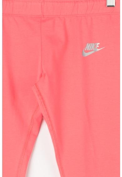 Nike Colanti capri cu imprimeu logo lateral Fete