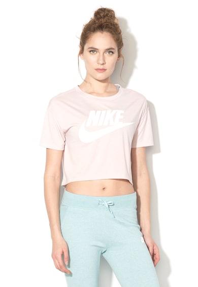 Nike Modáltartalmú logómintás crop póló női