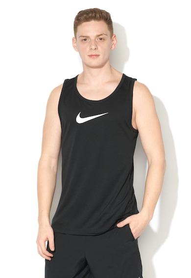 Nike Top cu imprimeu logo, pentru baschet Dri-Fit Barbati