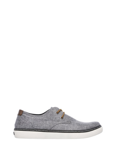 Skechers Pantofi casual cu logo brodat pe partea laterala Palen-Gadon Barbati