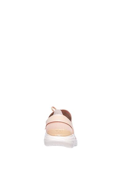Skechers You-Spirit bebújós kötött sneakers cipő logóval női