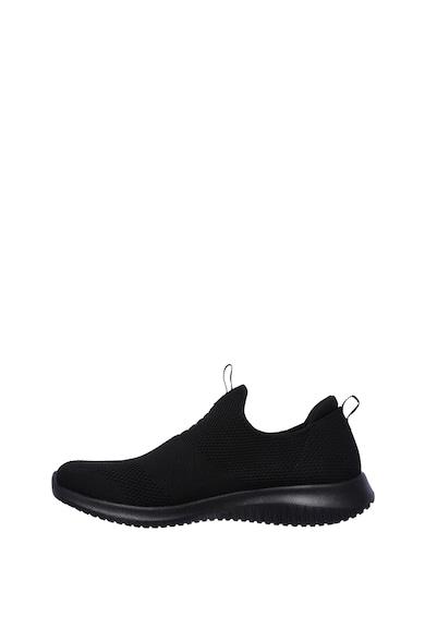 Skechers Pantofi sport slip-on cu design crosetat Ultra Flex Femei
