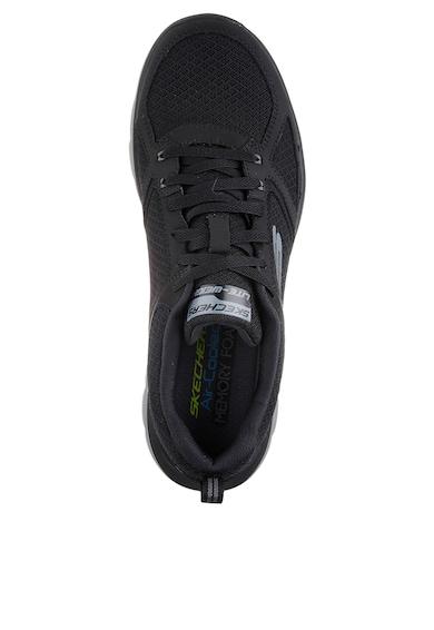 Skechers Flex Advantage 2.0 Lindman sportcipő bőr&hálós anyagú szegéllyel férfi