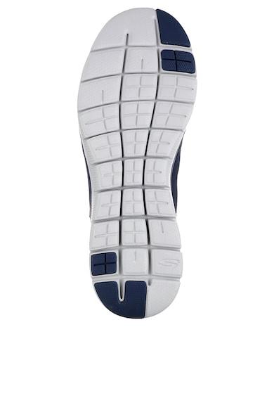 Skechers Спортни обувки Flex Advantage 2.0 Lindman с кожа и мрежести детайли Мъже