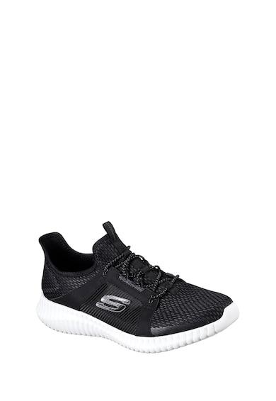Skechers Pantofi sport tricotati cu design slip-on Elite Flex Barbati