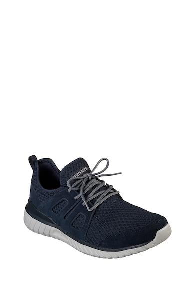 Skechers Спортни обувки Rough Cut с велур и мрежеста материя Мъже