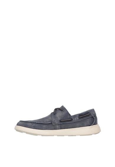 Skechers Pantofi din panza Status Melec Barbati