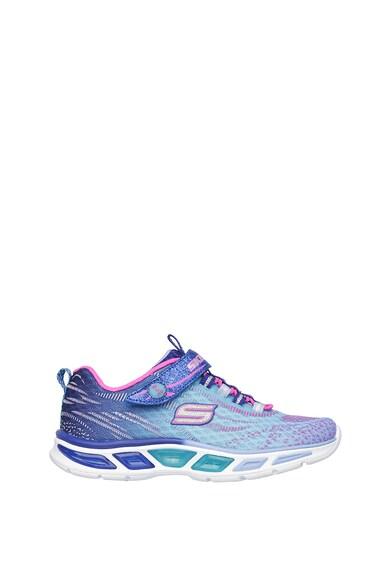 Skechers Спортни обувки Litebeams от плетена мрежеста материя с лъскави нишки Момичета