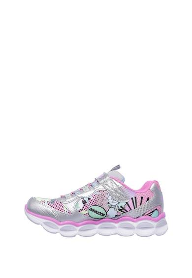 S Lights Lumi-Luxe sneakers cipő LED fényekkel - Skechers (10914L-SMLT) 1611135e61