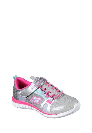 Skechers Pantofi sport cu aspect stralucitor Speed Trainer Glitter Time Fete