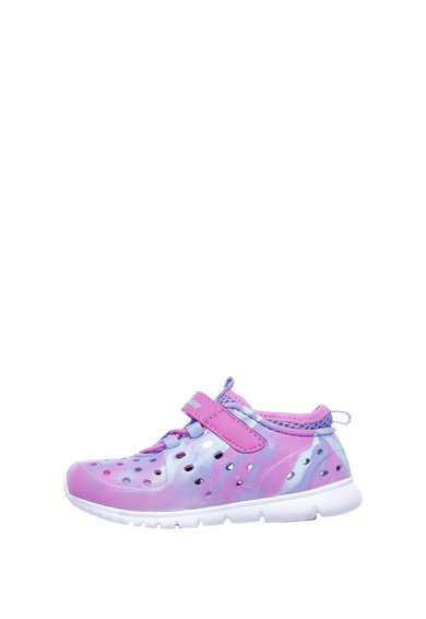 Skechers Обувки крокс с перфорации Момичета