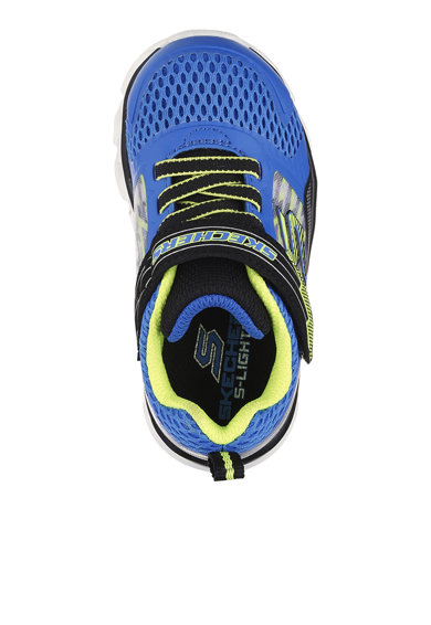 Skechers Pantofi sport slip-on cu insertii de plasa Hypno-Flash Tremblers Baieti