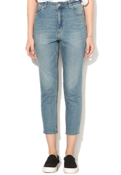 Cheap Monday Blugi mom, cu aspect decolorat Donna Femei