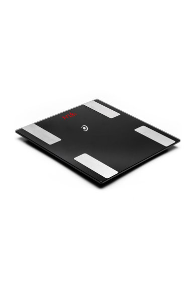 E-BODA Cantar electronic de persoane  CEP 3017, 180kg, 50g, APP, 16 memorii, Negru Barbati