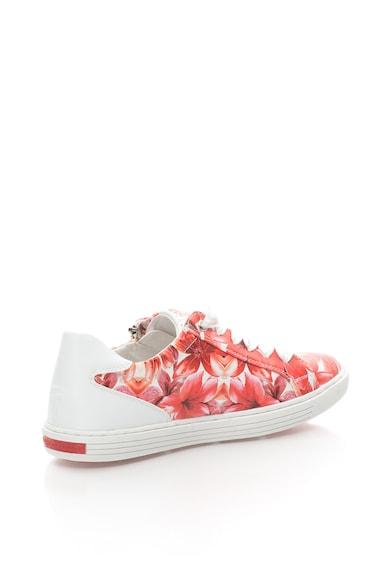 Marco Tozzi Pantofi sport din piele sintetica cu imprimeu floral Femei