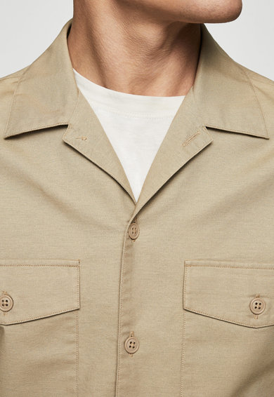 Mango Яке Alfa с джобове на гърдите Мъже