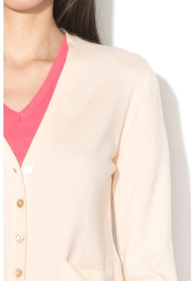 United Colors of Benetton Cardigan tricotat fin, cu nasturi Femei