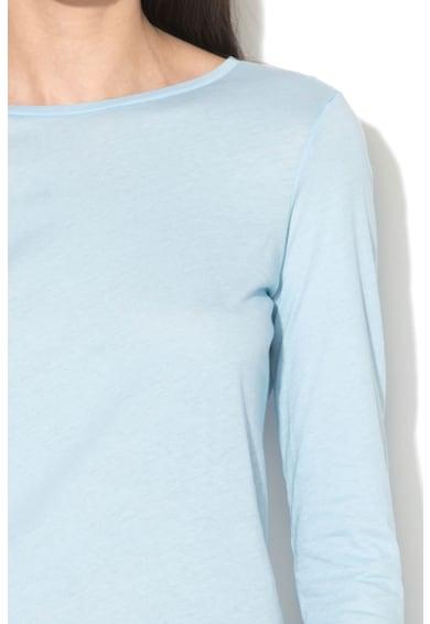 Undercolors of Benetton Bluza de casa cu decolteu la baza gatului Femei