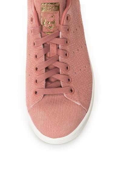 Adidas ORIGINALS Pantofi sport din piele nabuc Stan Smith Femei