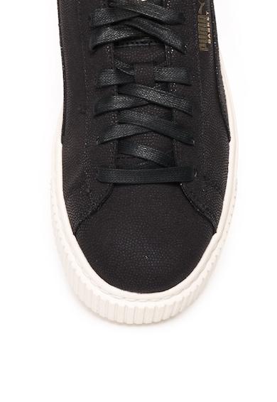 Puma Pantofi sport flatform cu buline stralucitoare Basket Femei