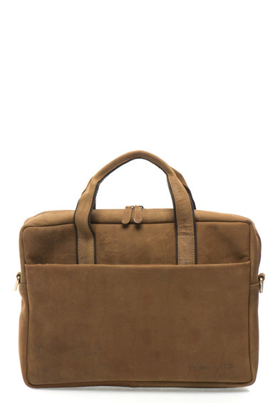 Nubuk bőr laptoptartó táska levehető vállpánttal - Pellearts (A2947 ... 822aebee01