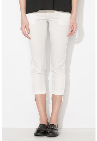 Zee Lane Denim Pantaloni eleganti cu terminatie asimetrica Femei