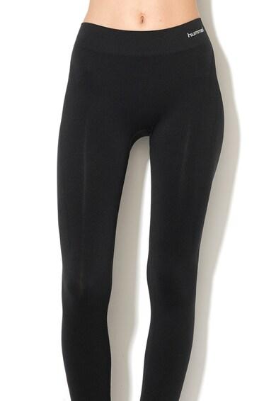 Hummel Colanti cu banda elastica in talie, pentru fitness Femei