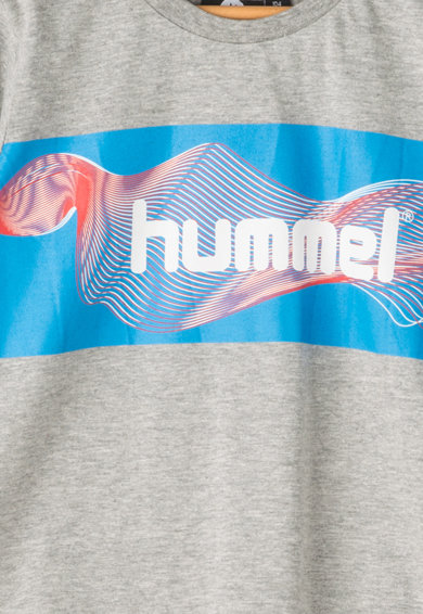 Hummel Tricou cu imprimeu text Kevyn Baieti