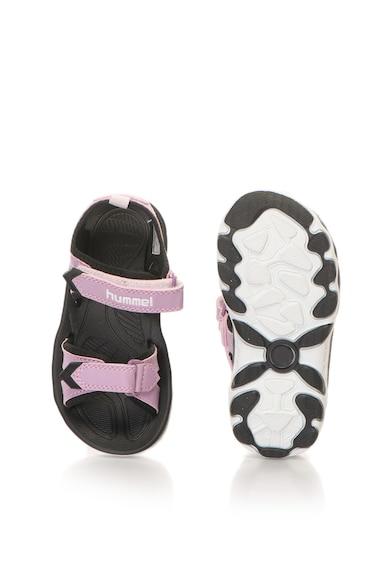 Hummel Sandale de piele sintetica, cu velcro Fete