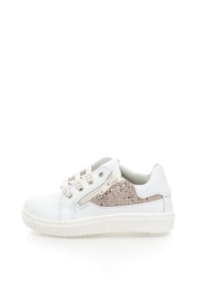 Zee Lane Pantofi sport de piele cu detalii lucioase Fete