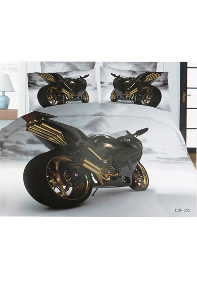 Ralex Pucioasa Lenjerie de pat XXL pentru 2 persoane Promo 3D  microfibra, cod LD 15 Femei