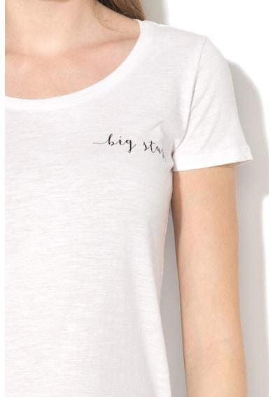 BIG STAR Tricou cu imprimeu logo pe piept Ashantis Femei