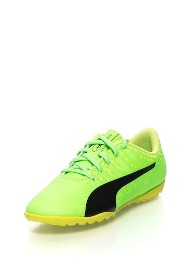 Puma Pantofi cu detalii geometrice pentru fotbal EvoPower Vigor Baieti