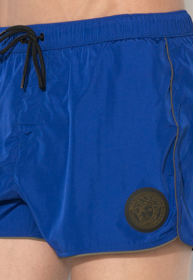 Versace Pantaloni scurti de baie, cu chiloti de plasa in interior Barbati