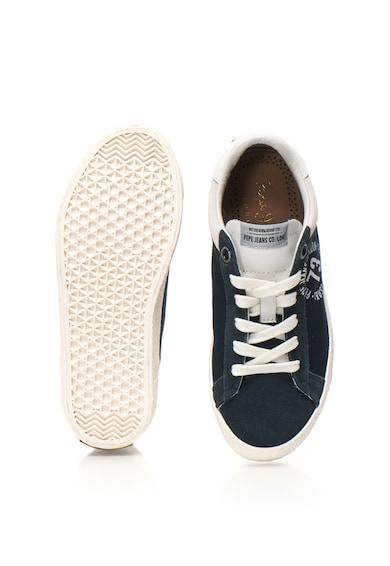 Pepe Jeans London Portobello sneakers cioő nyersbőr betétekkel Fiú