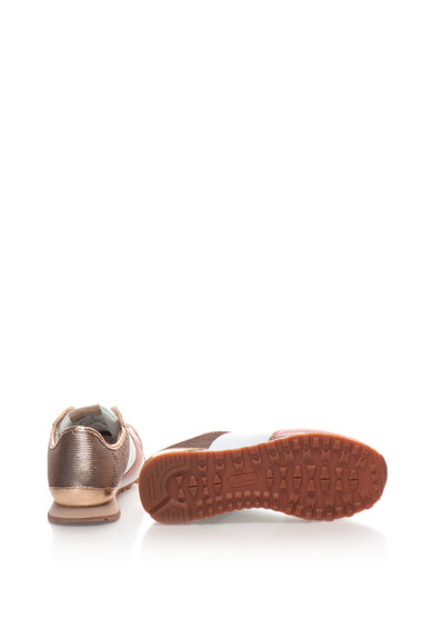 Pepe Jeans London Pantofi sport de piele sintetica cu garnituri cu paiete Verona Femei