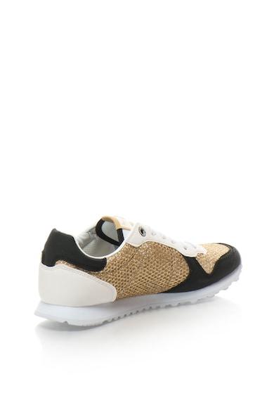 Pepe Jeans London Pantofi sport cu segmente stralucitoare Verona Femei