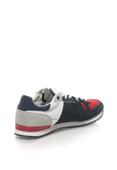 Pepe Jeans London Pantofi sport cu insertii de piele intoarsa Tinker Barbati